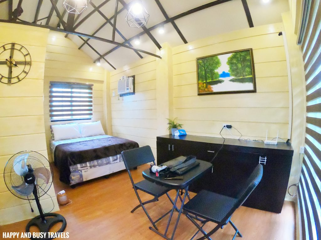 inside cabin 1 Ethans Cabin - Where to stay in Tagaytay - Happy and Busy Travels
