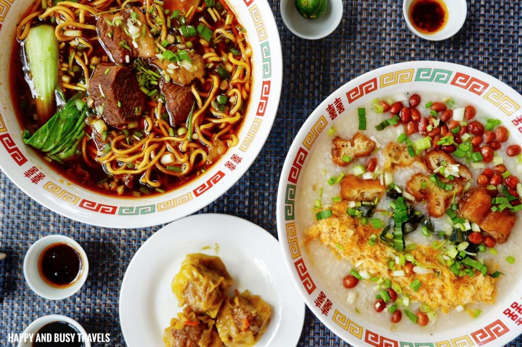 The dishes The Red Star Cafe Tagaytay - Happy and Busy Travels