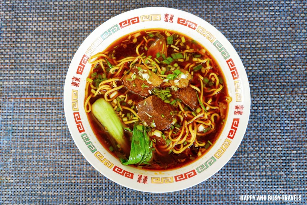 Beef Noodle Soup The Red Star Cafe Tagaytay - Happy and Busy Travels
