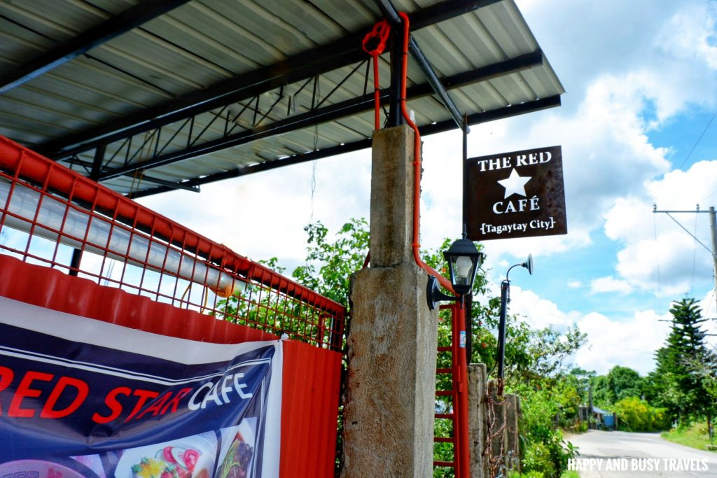 The Red Star Cafe Tagaytay - Happy and Busy Travels