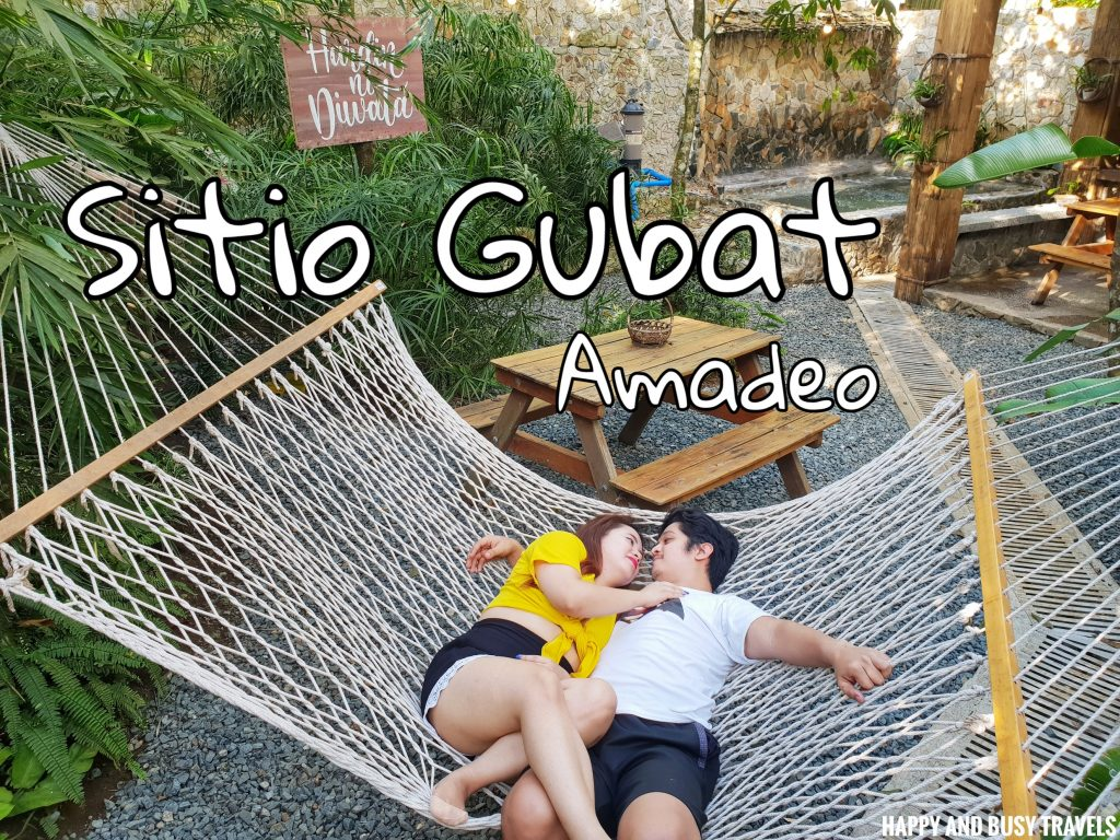 Sitio Gubat Amadeo Cavite 1 - Happy and Busy Travels to Tagaytay for vacation staycation where to stay