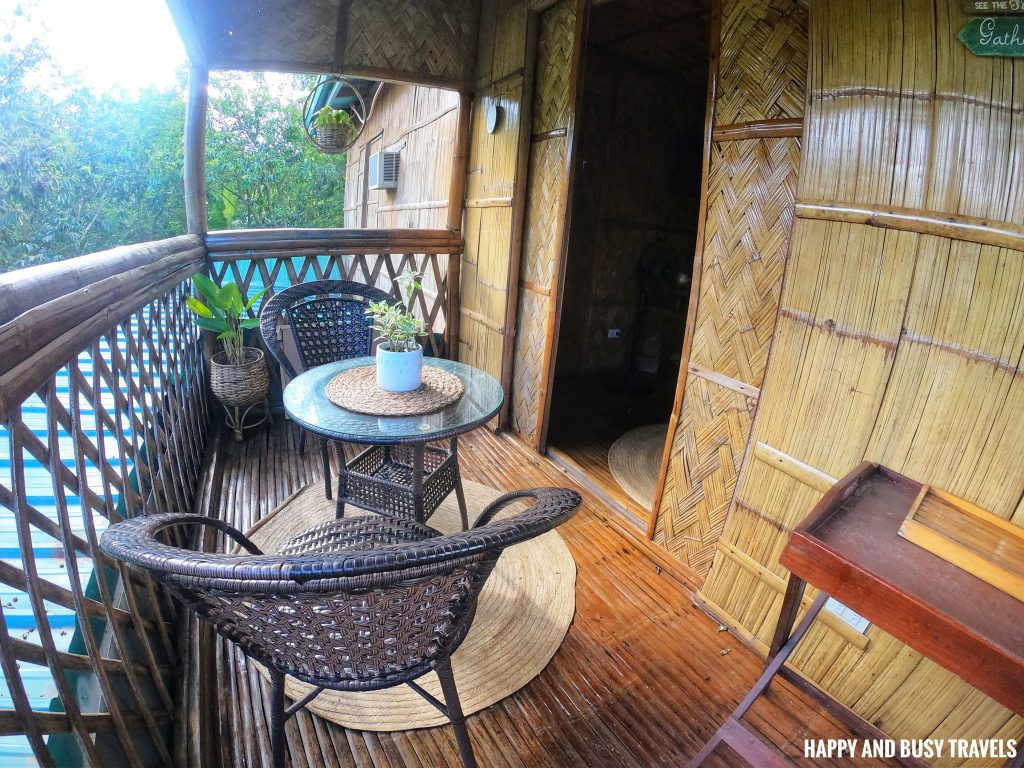 Sitio Gubat Amadeo Cavite 14 - balcony of third room Bahay Kubo - Happy and Busy Travels to Tagaytay for vacation staycation where to stay