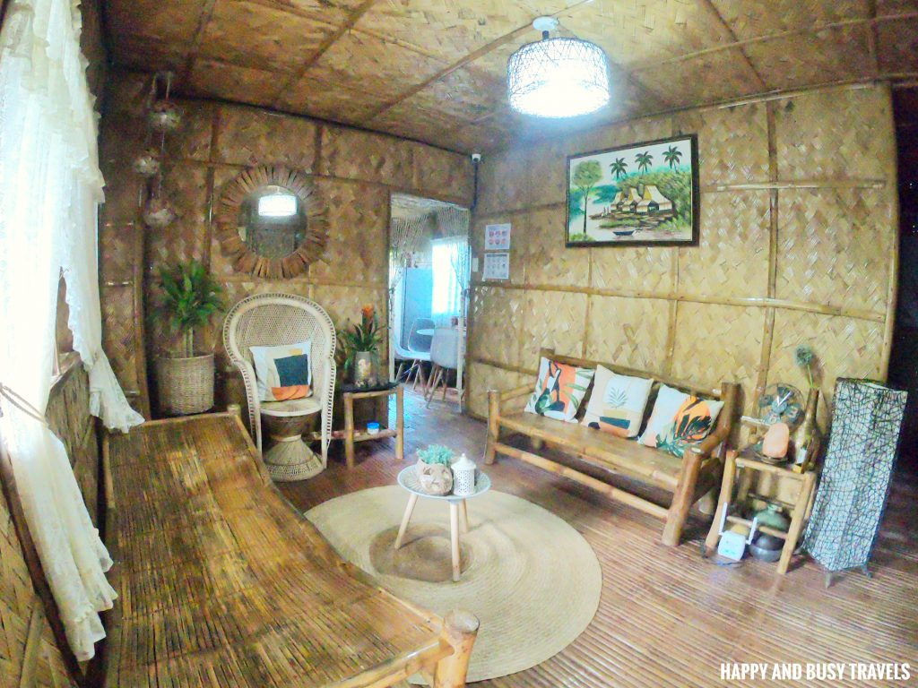 Sitio Gubat Amadeo Cavite 3 - living area of Bahay Kubo - Happy and Busy Travels to Tagaytay for vacation staycation where to stay