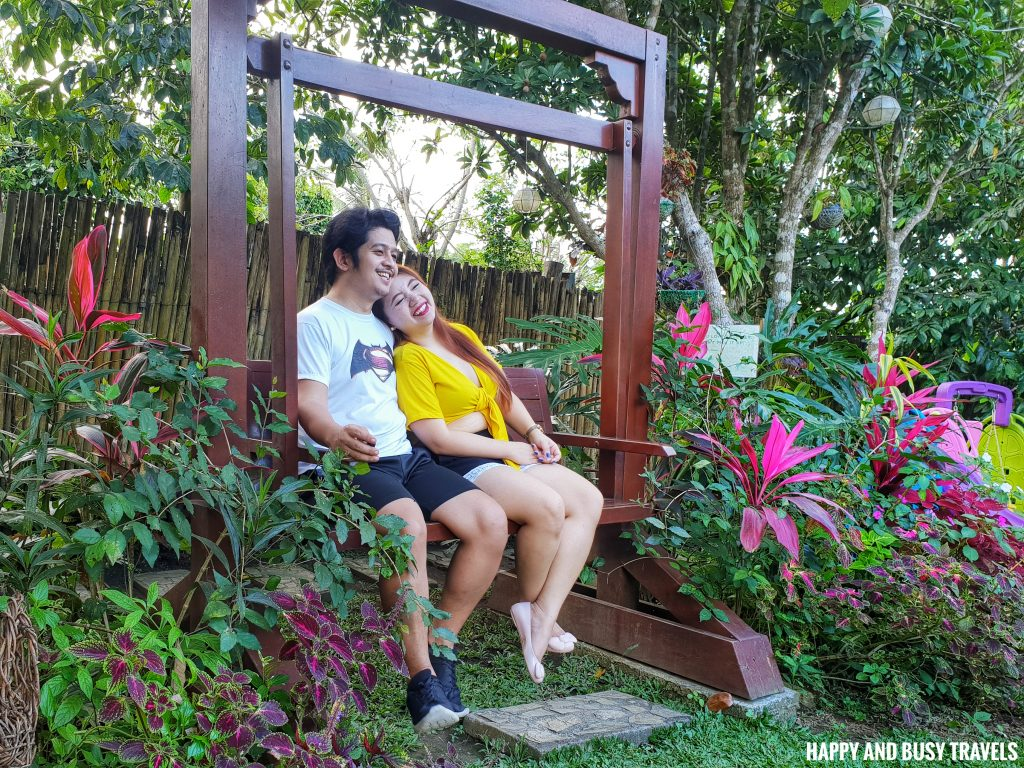 Sitio Gubat Amadeo Cavite 35 - swing front garden - Surroundings - Happy and Busy Travels to Tagaytay for vacation staycation where to stay