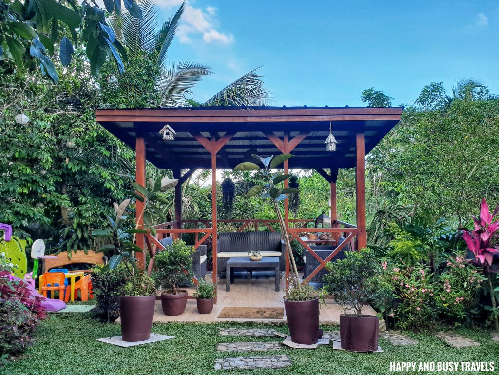 Sitio Gubat Amadeo Cavite 36 - gazebo front garden - Surroundings - Happy and Busy Travels to Tagaytay for vacation staycation where to stay