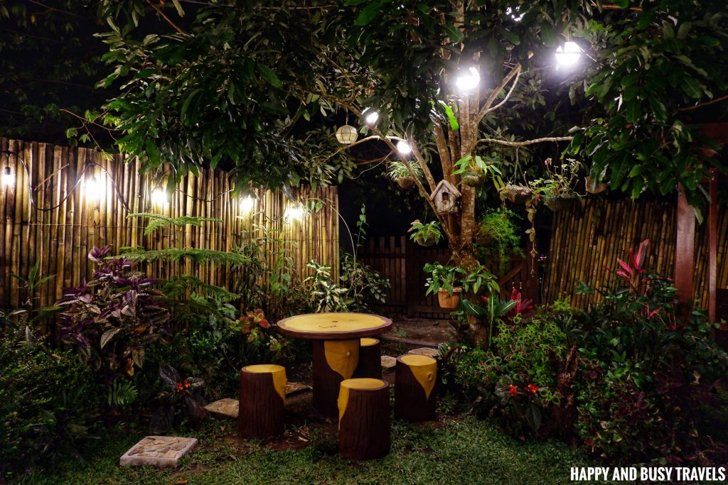 Sitio Gubat Amadeo Cavite 42 - front garden at night Surroundings - Happy and Busy Travels to Tagaytay for vacation staycation where to stay