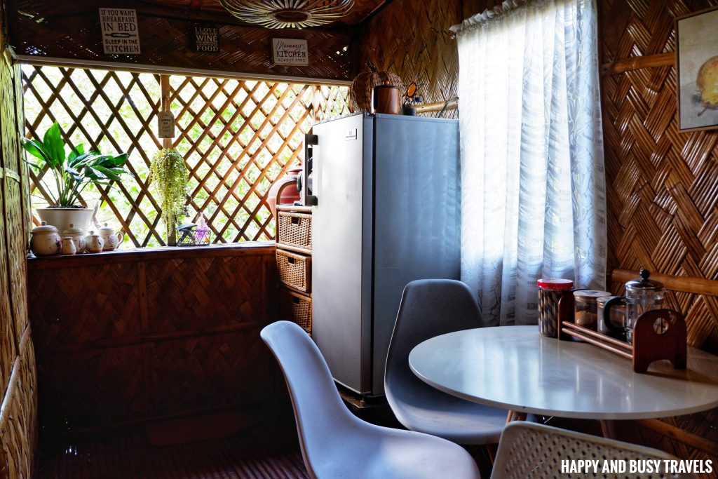 Sitio Gubat Amadeo Cavite 6 - tiny kitchen Bahay Kubo - Happy and Busy Travels to Tagaytay for vacation staycation where to stay